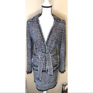 Ann Taylor Fine Italian fabric 2 piece skirt suit